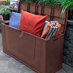3'11 x 1'4 Chaselink Space Saver Patio Box