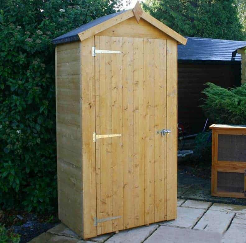 3 39 3 x 1 39 11 windsor wooden sentry box shed what shed for Garden shed homebase