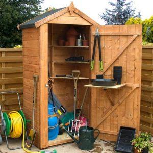 3'3 x 2 Waltons Grande Wooden Garden Storage