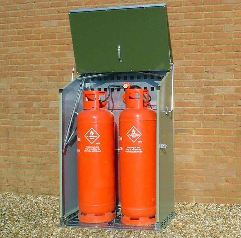 3'8 x 2'3 Trimetals Senturion247 Metal Gas Unit