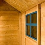 3'8 x 3'11 Windsor Snug Playhouse Cladding and Window
