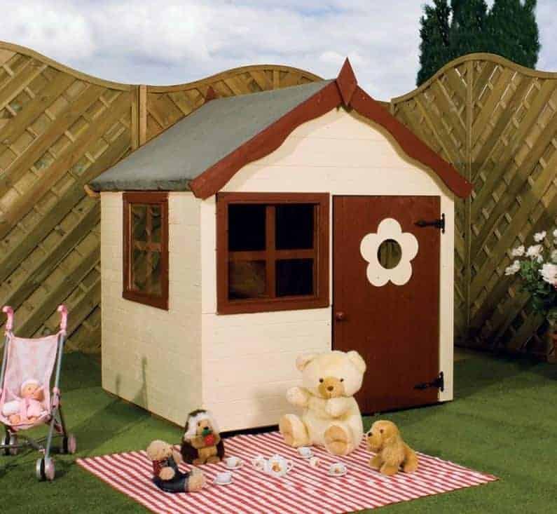 3'8 x 3'11 Windsor Snug Playhouse
