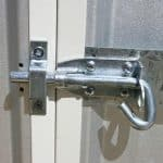 3m x 3.66m Waltons Regent Titanium Easy Build Metal Shed Locking Mechanism
