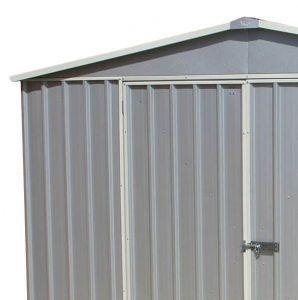 3m x 3.66m Waltons Regent Titanium Easy Build Metal Shed Roof