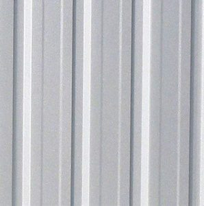 3m x 3.66m Waltons Regent Titanium Easy Build Metal Shed Wall