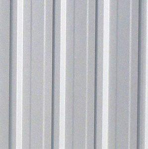 3m x 3.66m Waltons Regent Titanium Easy Build Metal Shed Wall