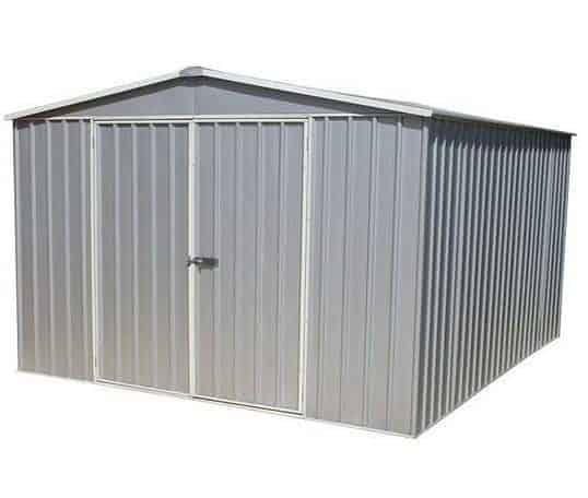 3m x 3.66m Waltons Regent Titanium Easy Build Metal Shed