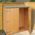 4' x 2' Shire Wooden Garden Storage Unit