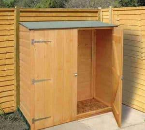 4' x 2' Shire Wooden Garden Storage Unit