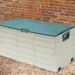 4' x 2' Store-Plus Foldable Plastic Garden Storage Box