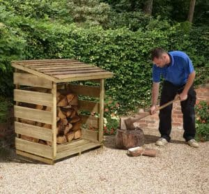 4' x 2' Store-Plus Log Store 2