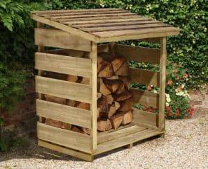 4' x 2' Store-Plus Log Store