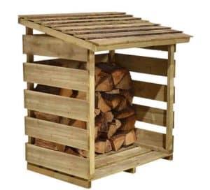 4' x 2' Store-Plus Log Store Unpainted
