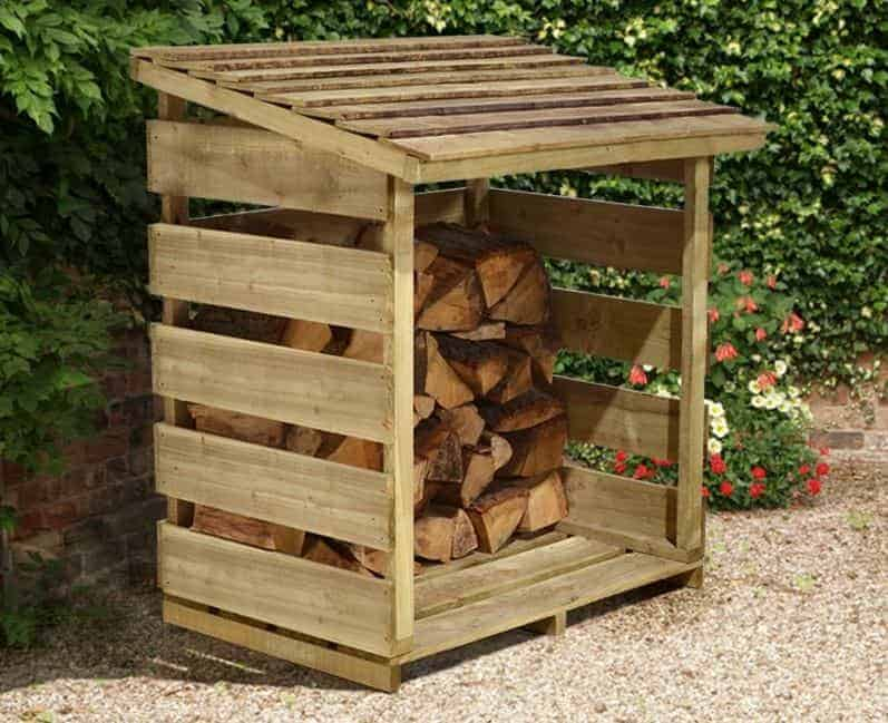 4' x 2' Store-Plus Log Store