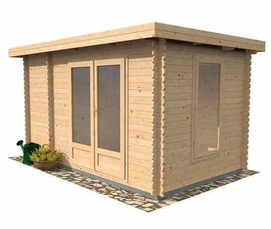 4 x 2.5 Waltons Zen 2 Log Cabin