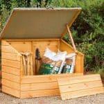 4' x 3' Store-Plus Shiplap Garden Storage Box