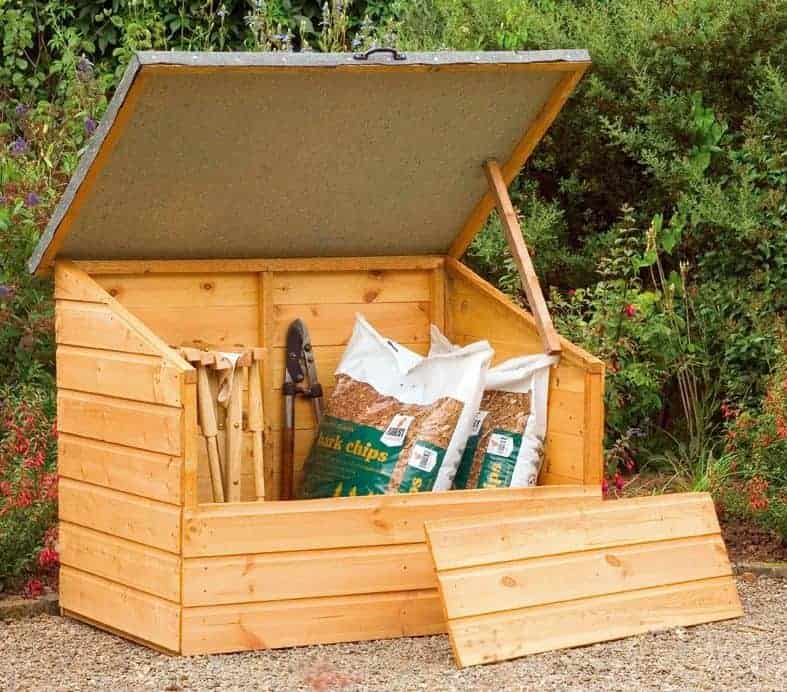 4' x 3' Store-Plus Shiplap Garden Storage Box