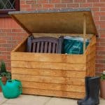 4' x 3' Store-Plus Wooden Overlap Tool Storage Chest