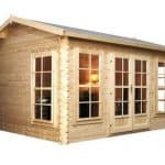 4 x 3 Waltons Home Office Director Log Cabin