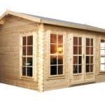 4 x 3 Waltons Home Office Director Log Cabin