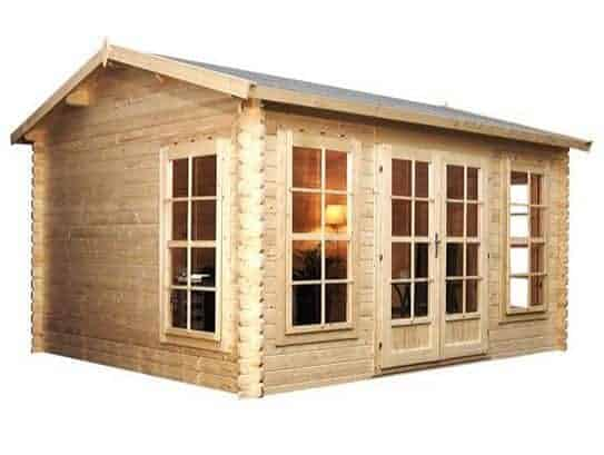 home office cabins. The Waltons Home Office Director Log Cabin Has A Very Light, Bright Design. It Features Fully Glazed Front Which Gives You Full Views Across Garden As Cabins S
