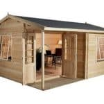 4 x 3 Waltons Home Office Executive Log Cabin