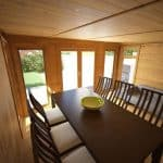 4 x 3 Waltons Insulated Garden Room Dining Area