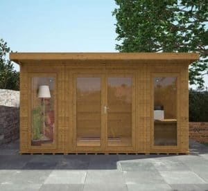 4 x 3 Waltons Insulated Garden Room Front