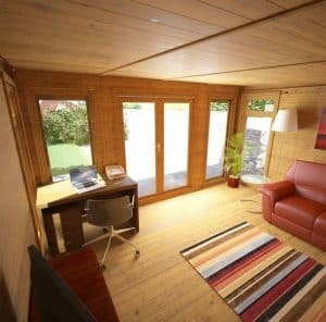 4 x 3 Waltons Insulated Garden Room Internal View