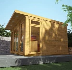 4 x 3 Waltons Insulated Garden Room Upper View