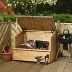 4 x 3 Waltons Wooden Garden Storage Chest