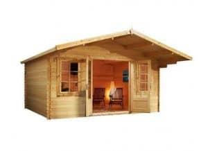 4 x 4 Waltons Haven Log Cabin