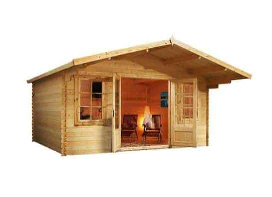4 x 4 Waltons Haven Log Cabin