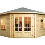 4 x 4 Waltons Lodge Corner Log Cabin
