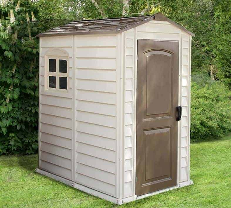 4' x 5'5 Duramax Woodside Plastic Shed - What Shed
