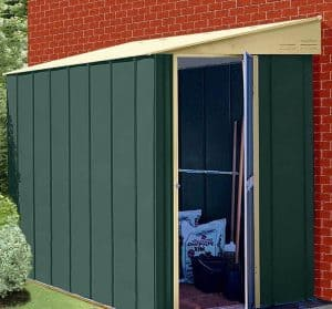 4' x 6' Shed Baron Grandale Lean To Metal Shed 2