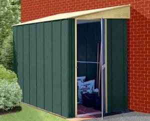 4 x 6 StoreMore Canberra Six Pent Lean-To Metal Shed