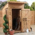 4' x 6' Windsor Curved Roof AERO Shed