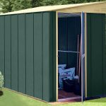 4' x 8' Shed Baron Grandale Lean To Metal Shed