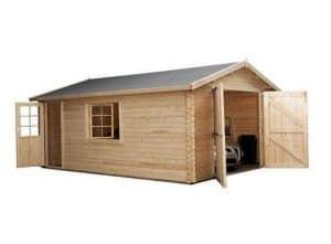 4.2 x 5.7 Waltons Log Cabin Garage