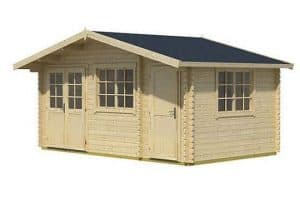 4.85 x 2.40 Borkum 3 Log Cabin