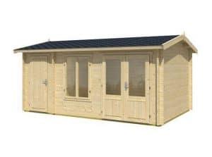 4.85 x 3.0 Wrexham 2 Log Cabin
