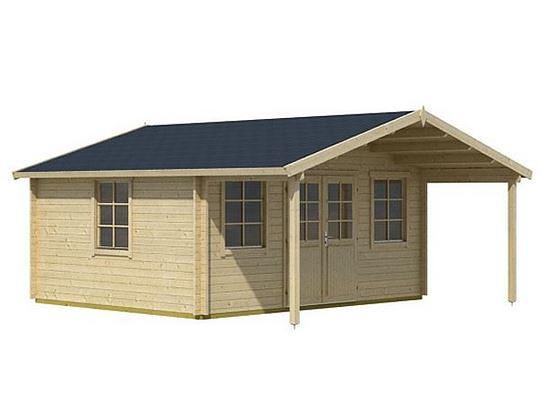4.85 x 3.90 Helgoland Log Cabin