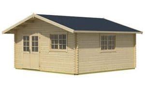 4.85 x 4.85 Gotland 7F Log Cabin