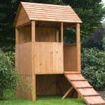 4'1 x 4' Windsor Stockade Tower Playhouse