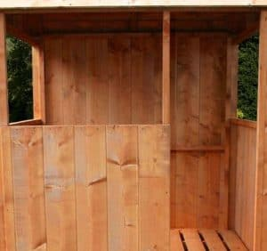 4'1 x 4' Windsor Stockade Tower Playhouse Cladding and Flooring
