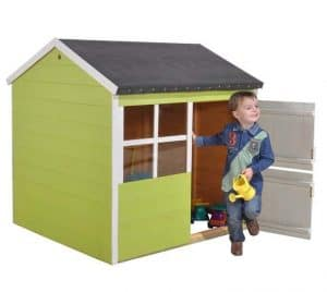 4'1 x 4'3 Play-Plus Blueberry Playhouse Green