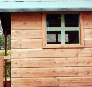 4'11 x 4'11 Windsor Tulip Playhouse Window and Cladding