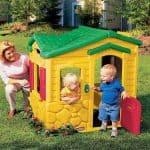 4'3 x 3'1 Little Tikes Magic Doorbell Playhouse