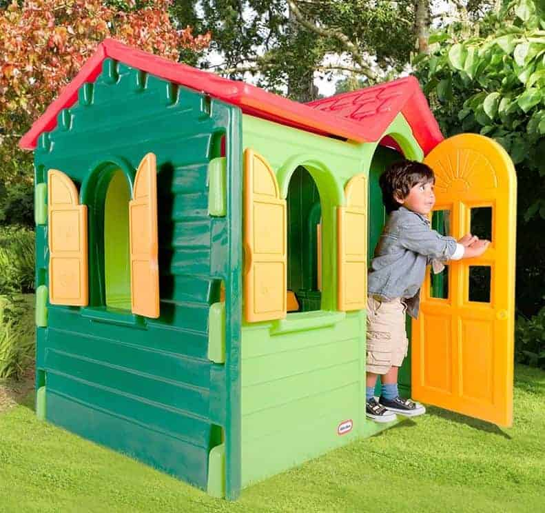 4'3 x 3'9 Little Tikes Country Cottage Evergreen